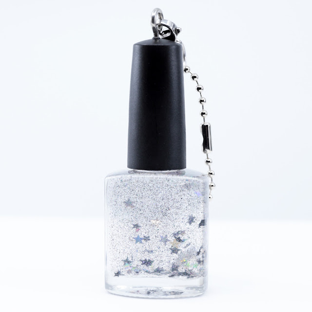 Starlight Polish Galaxy in a Bottle Key Chain