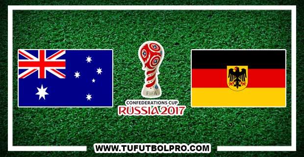 Ver Australia vs Alemania EN VIVO Por Internet Hoy 19 de Junio 2017