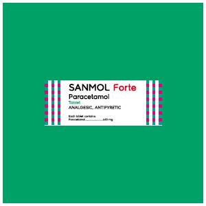 Sanmol Forte : Paracetamol Tablet 650 mg, Obat Penurun Panas dan Pereda Nyeri