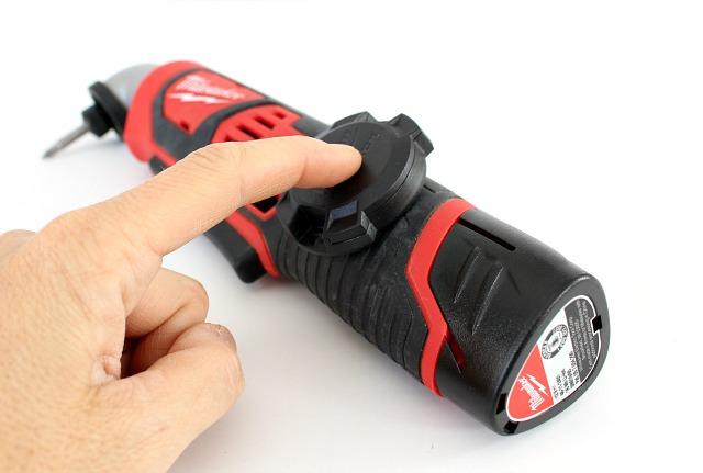 milwaukee tool tracker on drill