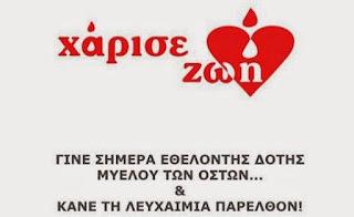 Αποτέλεσμα εικόνας για «Ημερίδα στην Αριδαία για τη δωρεά μυελού των οστών»