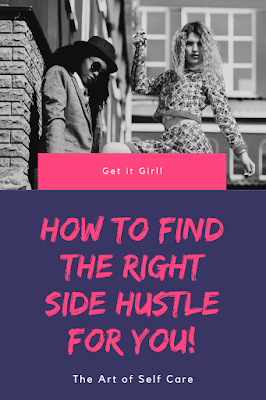 Entrepreneur, Full-time, Home Business, How to find the Right Side Hustle for You, Part-tme, Side Hustle 2020, Wealth Mindset, Money Mindset,
