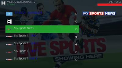 Watch Sky Sports with Champion sports kodi