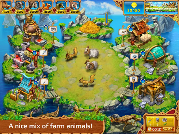 Games Farm Frenzy 3 Madagascar Android - Year of Clean Water