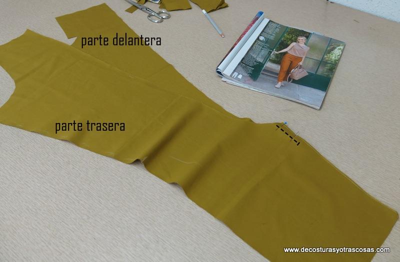 como coser un pantalón sport paso a paso