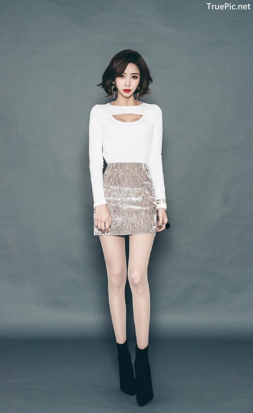 Image Ye Jin - Korean Fashion Model - Studio Photoshoot Collection - TruePic.net - Picture-7