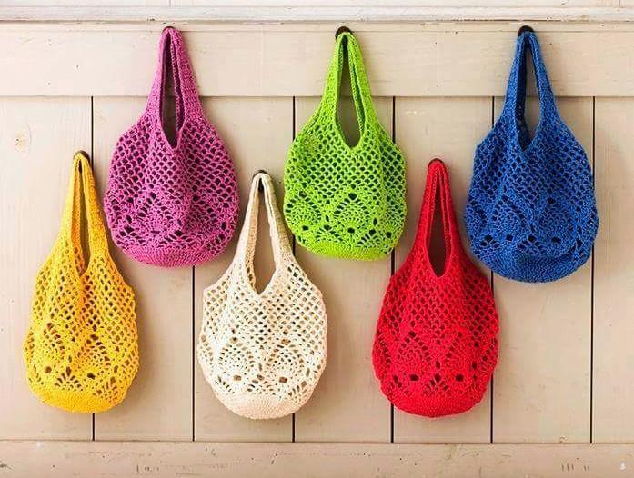 Como hacer un bolso tejido a crochet para mujer crochet - Como hacer bolsos tejidos ...