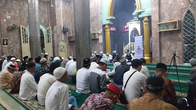 Gemuruh Takbir Menggema di Masjid Saksi