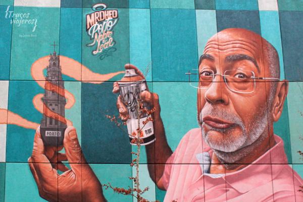 mrdheo mural Porto street art route