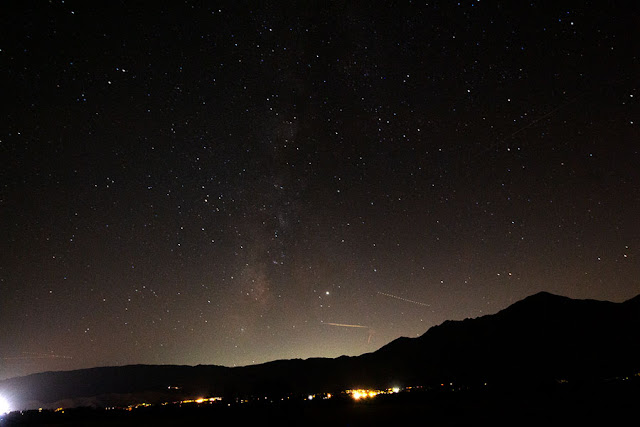 Milky Way in Borrego Springs, DSLR, 10-18mm, 30 seconds (Source: Palmia Observatory)