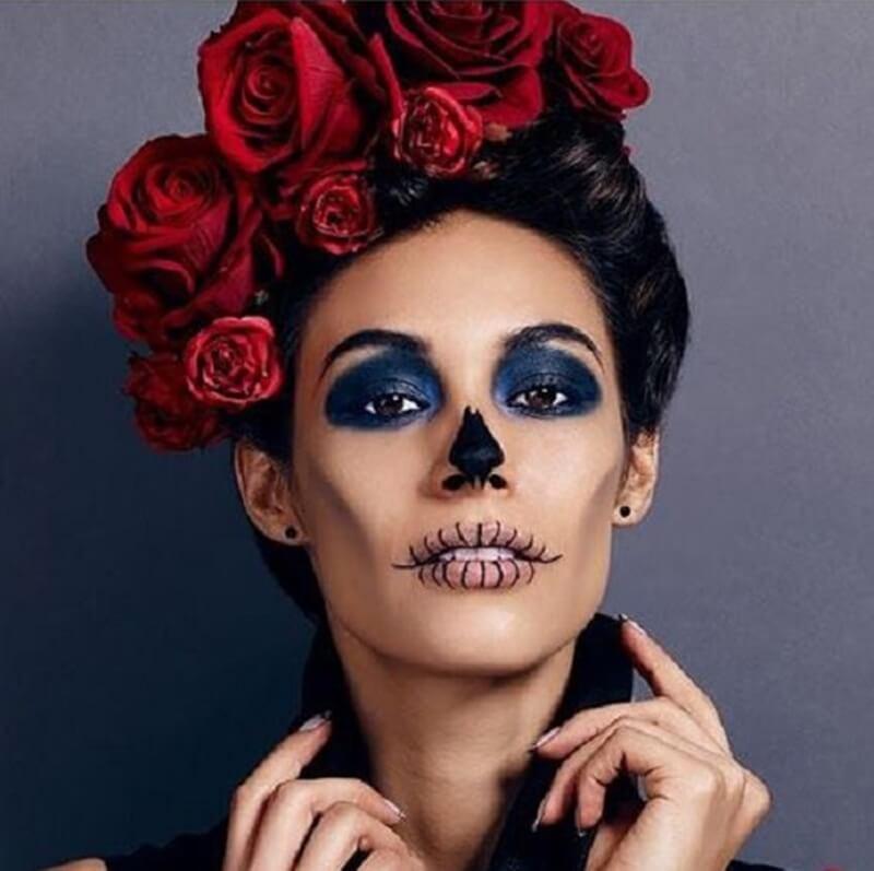 Maquiagem Caveira Halloween