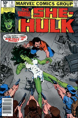 The Savage She-Hulk #11, She-Hulk is dying