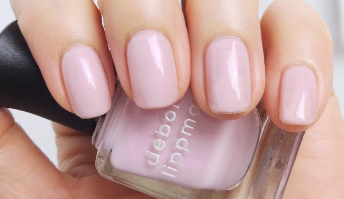 Deborah Lippmann Chantilly Lace NOTD