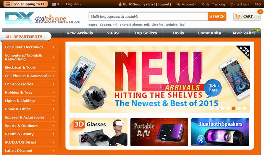DealExtreme, free shipping worldwide ,ديل اكستريم, للشراء عبر الانترنت, شحن مجانى لكل الدول