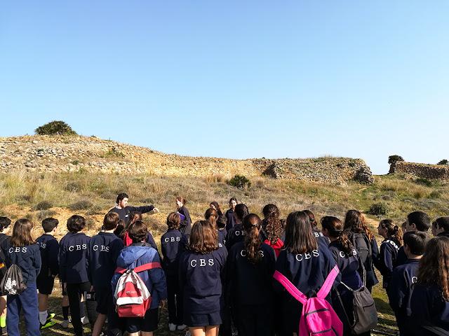 Visitas extraescolares a Tejada la Vieja: Colegio Británico de Sevilla