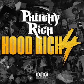 Philthy Rich - Hood Rich 4 (2016) - Album Download, Itunes Cover, Official Cover, Album CD Cover Art, Tracklist
