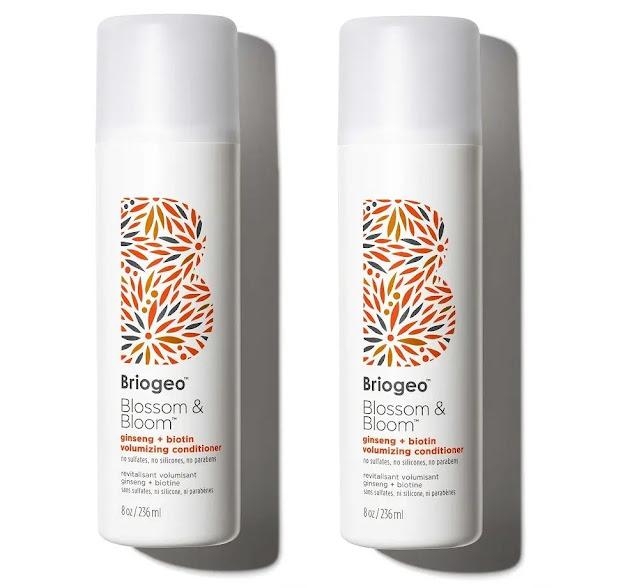 7- Briogeo Blossom & Bloom Ginseng + Biotin Volumizing Shampoo
