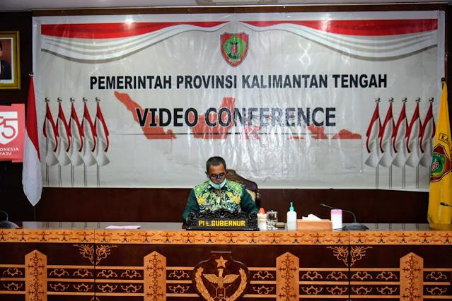Plt. Gubernur Kalteng Ikuti Rakornas Transformasi Digital UMKM Pangan