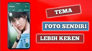 Keren Abis, Cara Pasang Foto Sendiri di Home Screen WhatsApp