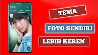 Cara Mengganti Tema Home Screen Whatsapp Menggunakan Foto Sendiri