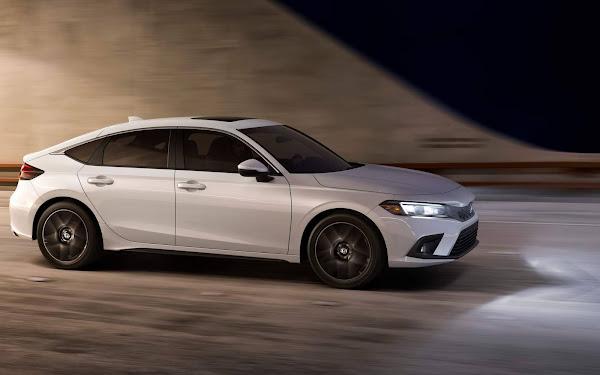Honda Civic 2022 obtém classificação máxima de segurança - IIHS: EUA