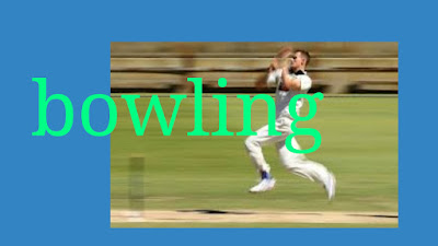 Image for fast bowling in cricket match