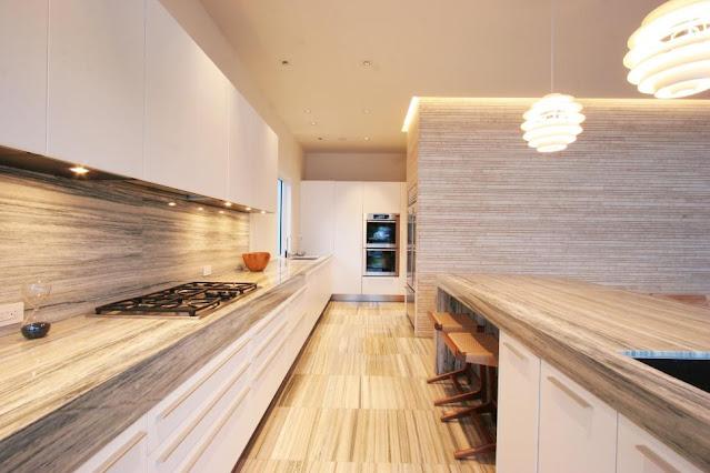แบบห้องครัวเคาร์เตอร์ยาว
