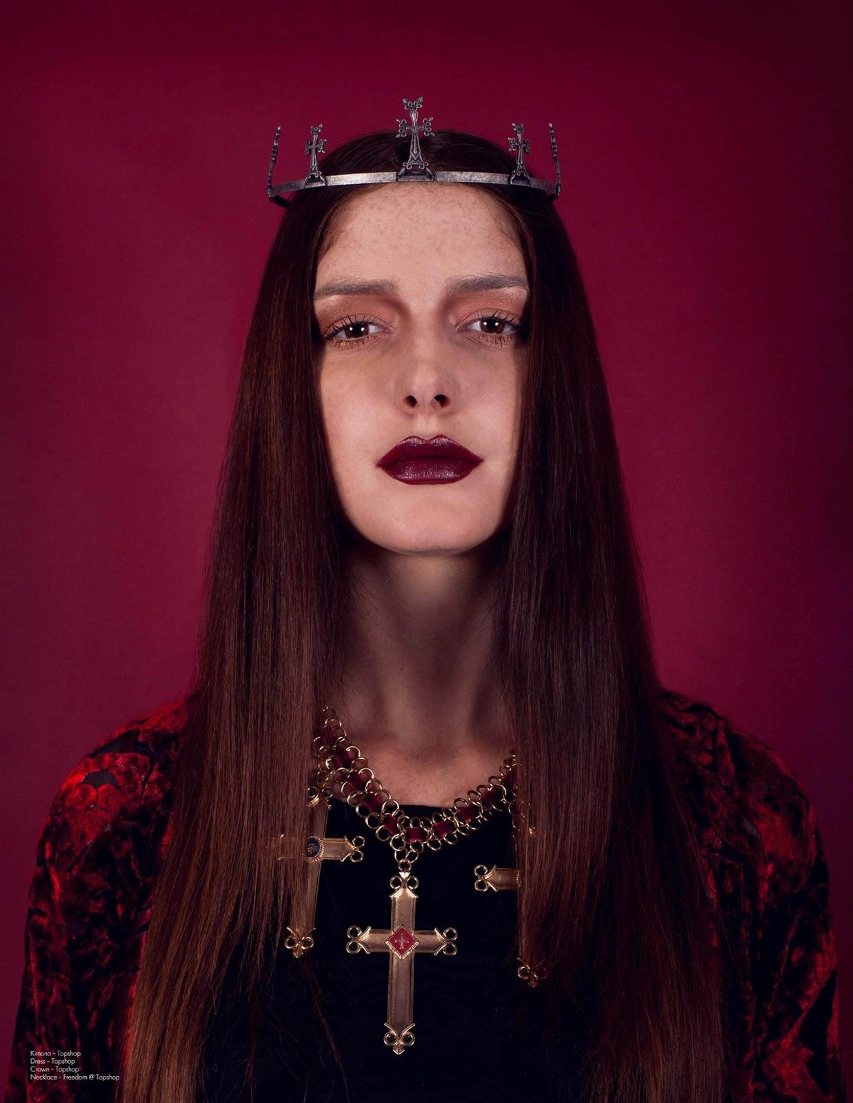 Irina miller in Mindgame Magazine