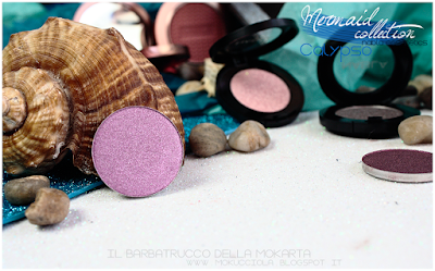 Eyeshedow ombretti SWATCHES  - MERMAID COLLECTION - NABLA COSMETICS
