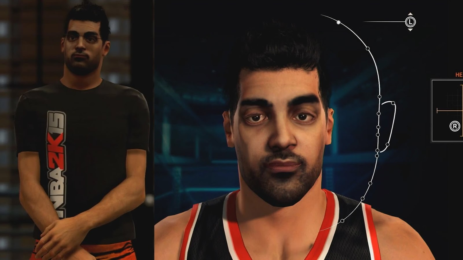 NBA 2k15 MyCareer New Features Face Scanning