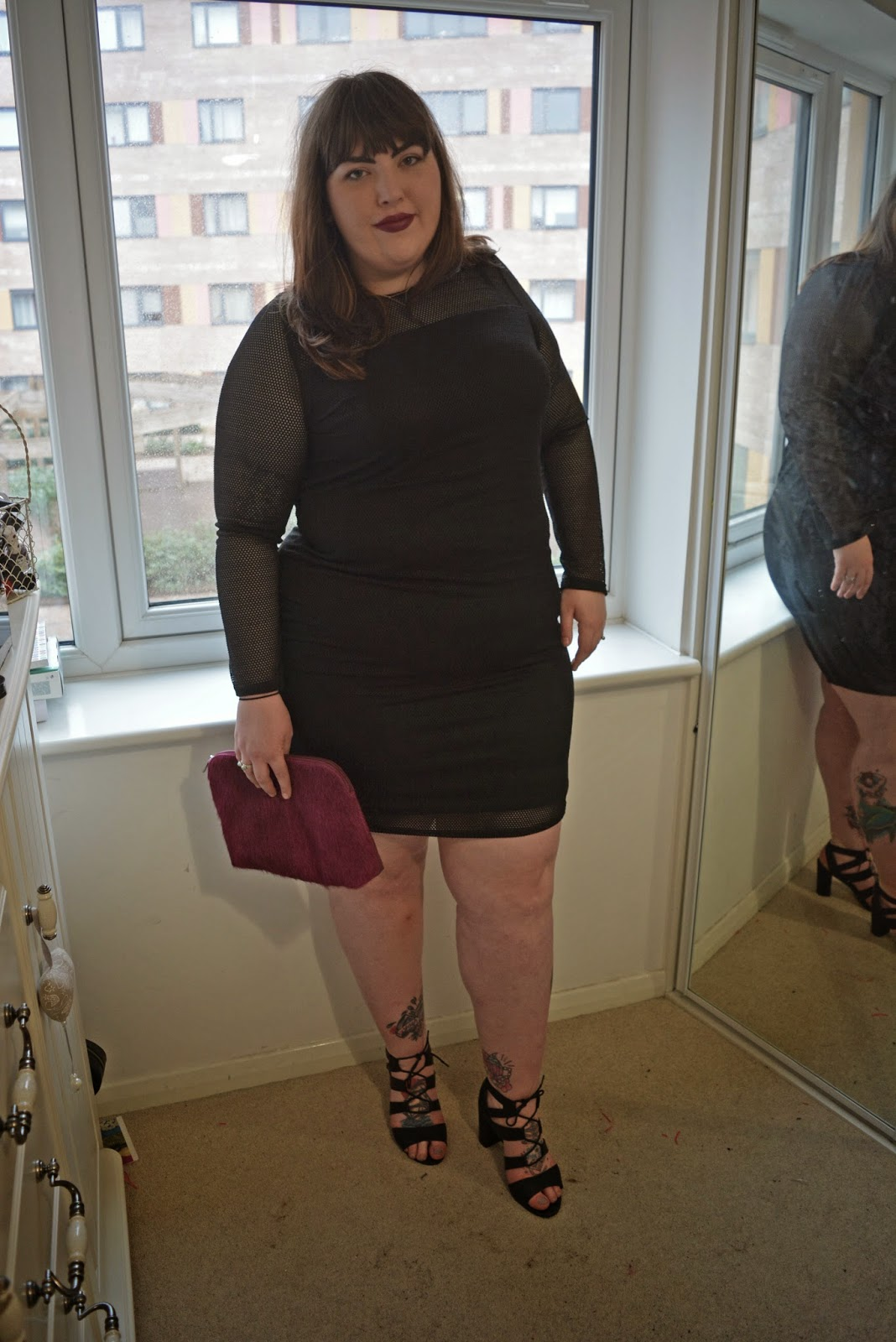 Anna Scholz Net Mesh Dress Review