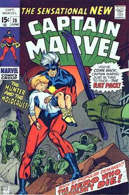 Captain Marvel #20, the Rat Pack