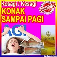 Suplemen Pria Dewasa KESAGI Herbal Madu Kuat Asli Original Ecer (1 sacet)
