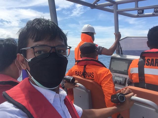 Menggunakan RIB Basarnas Natuna Untuk Patroli Laut www.bocahudik.com