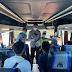 Kolaborasi Gabungan di Terminal Bangkalan, Petugas Lakukan Razia Surat Bebas Covid-19 Bagi Penumpang Bus AKAP