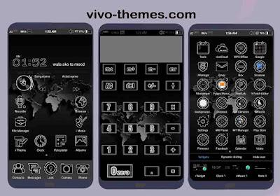 Full Dark Version Theme For Vivo Android
