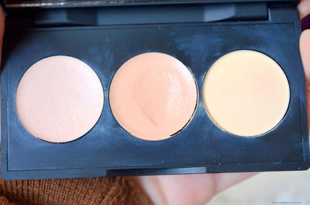 Sleek make up - Maquillage - correcteur - anti cerne