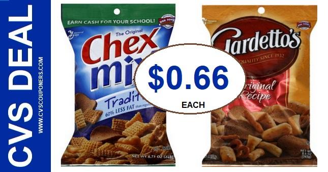 Chex Mix CVS Coupon Deal 6-29 7-6
