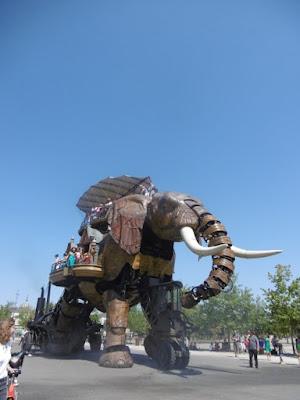 L'éléphant de la Machine, île de Nantes, malooka
