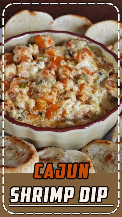 Cajun Shrimp Dip...perfect for our Cajun tailgate v LSU #gococks