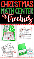 This holiday math center freebie provides students practice in those early numeracy skills that they desperately need. This freebie includes 3 centers that focus on the numbers 1-10.