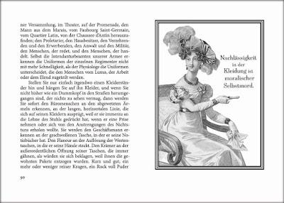 Honoré de Balzac: Über das elegante Leben - Traité de la vie élégante, Auszug
