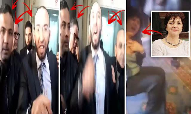 تونس : بالفيديو ... خطير جدا إغماء سامية عبو بعد تعرضها للاعتداء بالعنف من قبل ائتلاف الكرامة
