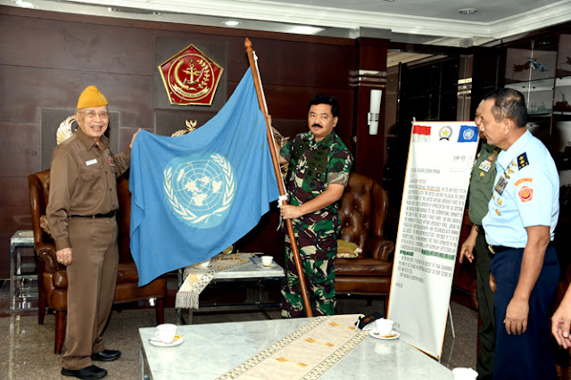 Panglima TNI Terima Ketua Umum DPP LVRI