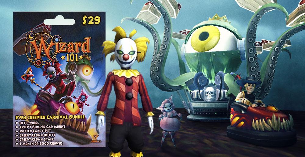 Wizard101 Even Creepier Carnival Bundle