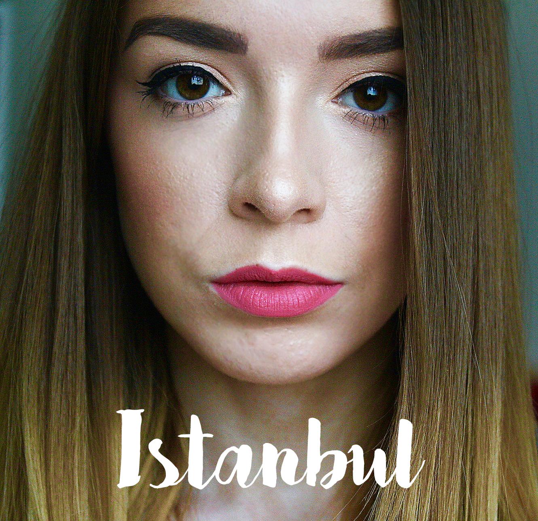 Nyx Soft Matte Lip Cream Istanbul Swatch