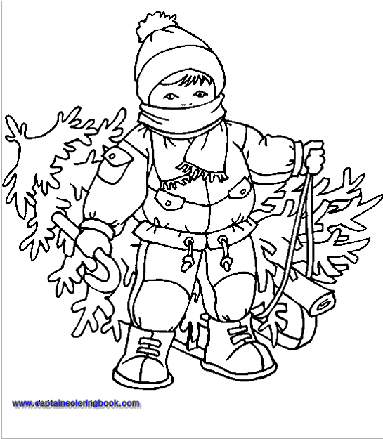 Free Christmas Coloring Pages Pdf Download Page