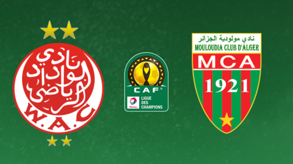 مشاهدة مباراة الوداد البيضاوي ومولودية الجزائر اليوم