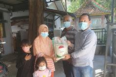KWG Bersama Pemkab Gresik  Peduli Dampak Covid, Bagikan Paket Sembako