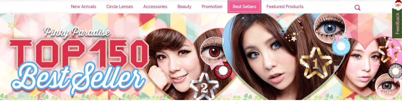 Latest promotion, discount, sales, Pinkyparadise coupon code, contest will be updated frequently.